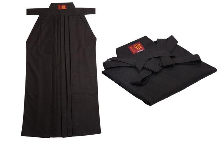 Как сложить и одеть Хакама.
